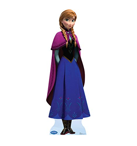 Advanced Graphics Anna Life Size Cardboard Cutout Standup - Disney's Frozen (2013 Film)
