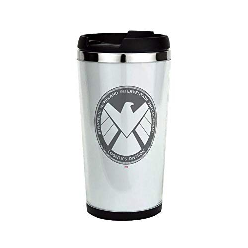 SHIELD Agent Personaliz Stainless Steel Travel Mug Stainless Steel Travel Mug, Insulated 18 oz. Coffee Tumbler.