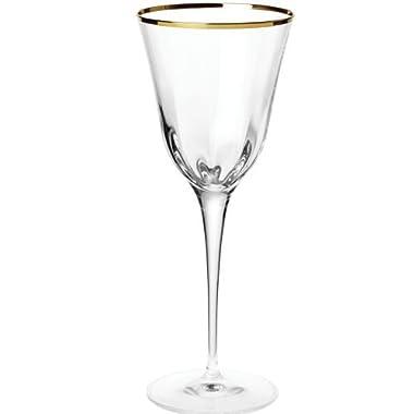 VIETRI Optical Gold Wine
