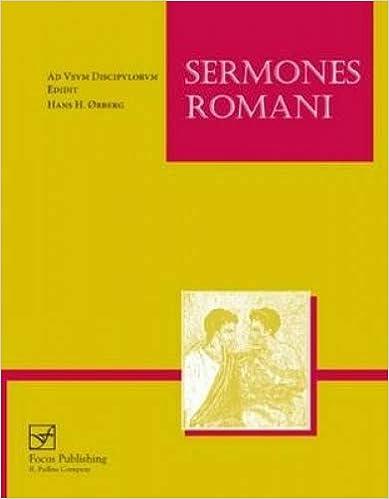 Ad usum discipulorum Sermones Romani