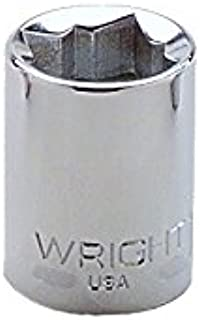 "product image for Wright Tool 3314 3/8"" Drive Special 8 Point Standard Socket, 7/16"""