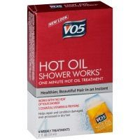 Vo5 Moisturizing with Vitamin E Hot Oil Shower Works, 2 Fluid Ounce - 6 per case. by Vo5