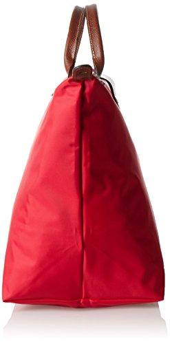 Longchamp, Borsa tote donna rosso robbia