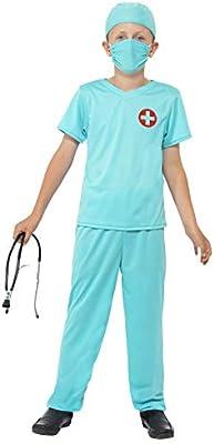 Smiffys-41090S Bambi Miffy Disfraz de Cirujano, con Top ...