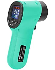 Sangmei Handheld Non-Contact Digital Infrared Thermometer Pyrometer Aquarium LCD Laser Thermometer Outdoor Industrial Thermometer -50~550 C