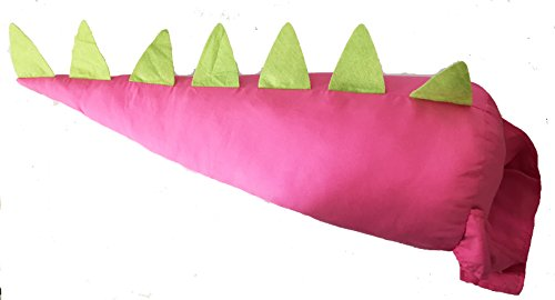 [Dinosaur / Dragon Dress up Tail (Pink and Green)] (Dragon Girl Costume)