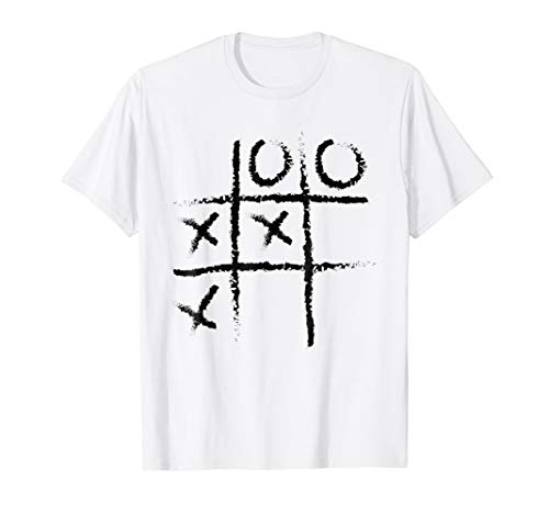 Noughts And Crosses Shirt Halloween Board Game Lazy -