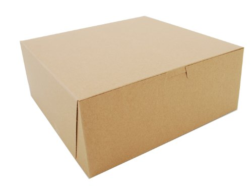 Corner Window Non Lock (Southern Champion Tray 0973K Kraft Paperboard Non Window Lock Corner Bakery Box, 10