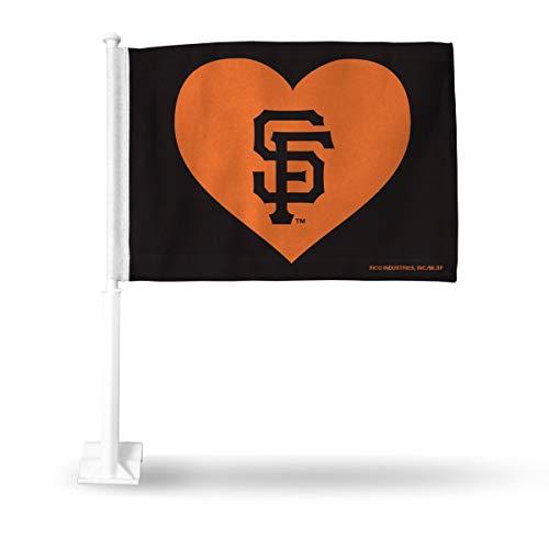 - Rico San Francisco Giants MLB 11X14 Window Mount 2-Sided Car Flag