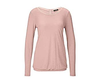 Tchibo Light Pink Round Neck Pullover Top For Women