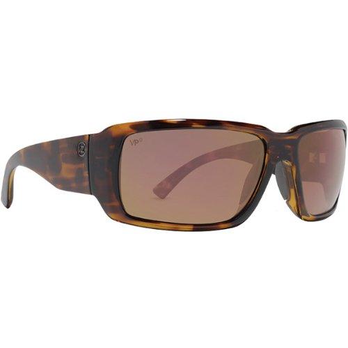 VonZipper Drydock Men's Polarized Fashion Sunglasses - Tortoise/Vermillion Glass / One Size Fits - Vermillion Sunglasses