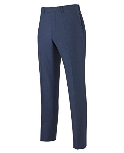 The Savile Row Company Savile Row Men's Navy Business Suit Trousers 38'' 32'' by The Savile Row Company
