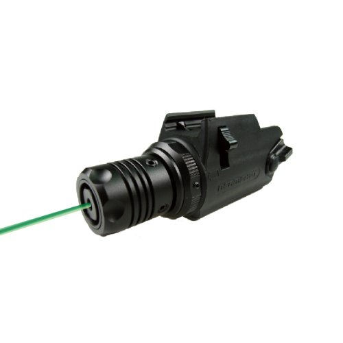 BEAMSHOT GB8300S Green Laser Sight True Daylight Laser with Quick Detach System carrying case and Battery are included)