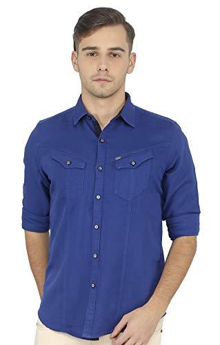 RODID Men #39;s Solid Casual Shirt