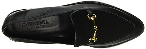 GARDENIA COPENHAGEN Women's Shoe Loafers, Black (Black 10), 6 UK, 39 EU