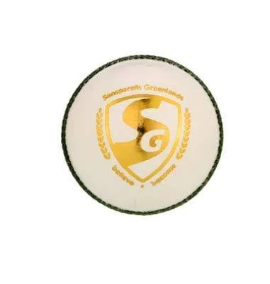 SG Cricket Leather Test White Ball