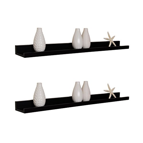 Review WELLAND Photo Ledge Picture Display Wall Shelf Gallery, 36 Inch By WELLAND by WELLAND