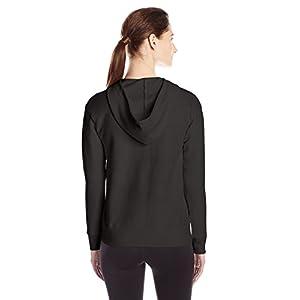 Hanes Women's ComfortSoft EcoSmart Full-Zip Hoodie Sweatshirt, O4637, XL, Jazzberry Pink