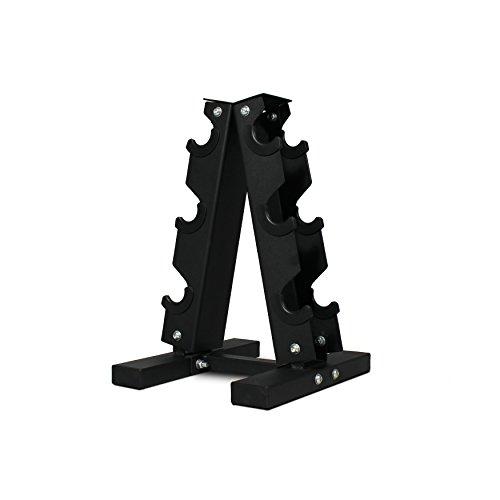 Fitness Republic Solid Steel Dumbbell Rack (3 Dumbbell Pairs Holder)