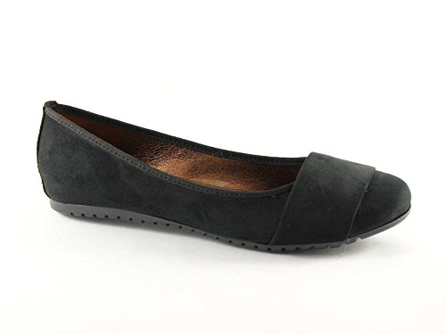 Gemma 515 black women shoes made in italy dancers band Nero mYeHa1
