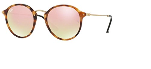 Ray Ban RB2447 11607O 49M Spotted Brown Havana/Copper Flash - Copper Bans Ray Mirror