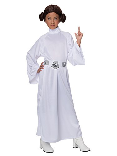 Rubies Star Wars Deluxe Princess Leia Child Costume-