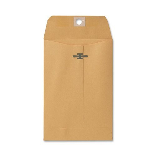Sparco Heavy-Duty Clasp Envelopes, Kraft Size: 4.5 x 6.75 by Sparco