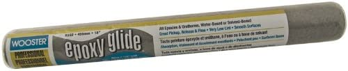 Wooster Brush R232-18 1/4-Inch Nap Epoxy Glide Roller Cover, 18-Inch
