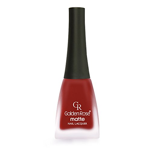 Golden Rose Matte Nail Polish - 32 Falu Red Light