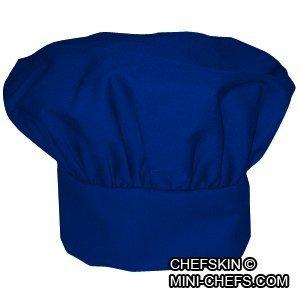 Chefskin Chef Mushroom Hat Kids Children Blue -