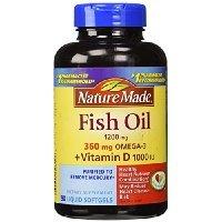 Nature made fish oil plus vitamin d 1200 for Fish oil vitamin d