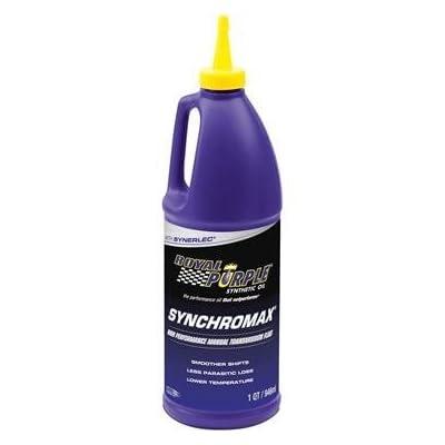 Royal Purple 01512 Set of 4 Synchromax Manual Transmission Fluid 1-Quart Bottles: Automotive