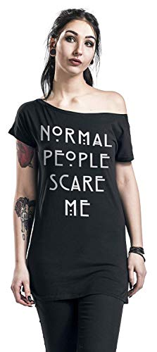 Story Normal People American T shirt Manches Horror Noir Courtes BPw4Eqx5