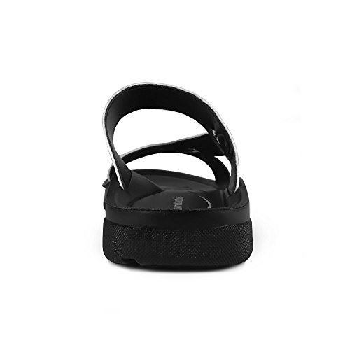 AEROTHOTIC Original Orthotic Comfort Slip On Sandals and Flip Flops with Arch Support for Comfortable Walk (US Women 11, Thistle Black) by AEROTHOTIC (Image #3)