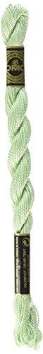 DMC 115 5-369 Pearl Cotton Thread, Very Light Pistachio Green, Size 5