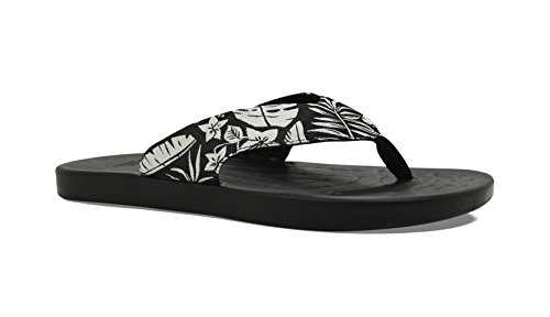 Palm The Waterfall Men's SoftScience Flip Black Flop 4p7UH
