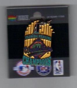 - 1997 World Series Pin Florida Marlins Champions