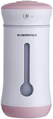 Humidificador Difusor De Aceites Esenciales con Ventilador, Luz ...