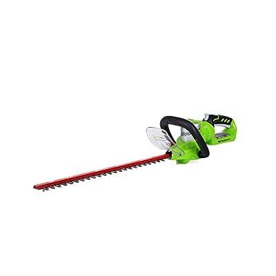 GreenWorks G-24 Li-Ion Cordless 22-Inch Hedge Trimmer
