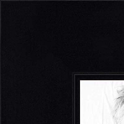 SATIN BLACK ARTTOFRAMES 19x29 IN PICTURE FRAME