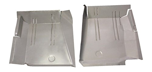 Motor City Sheet Metal - Works With 1967 1968 1969 1970-1976 DART DUSTER VALIANT SCAMP FRONT FLOOR PANS NEW PAIR!