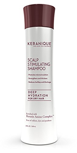 Keranique Deep Hydration Scalp Stimulating Shampoo 8 Ounce