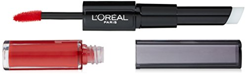 L'Oréal Paris Infallible Pro Last 2 Step Lipstick, Infallible Red, 1 fl. oz. -