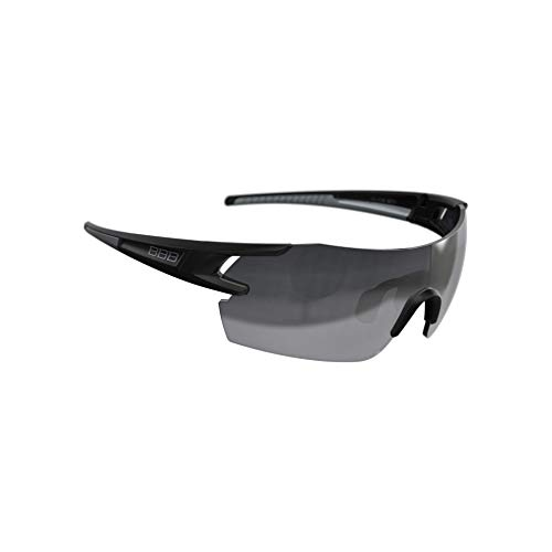 (BBB Cycling BSG-53 FullView Sport Glasses with Interchangeable Lenses for Road and Mountain Biking (Matt)