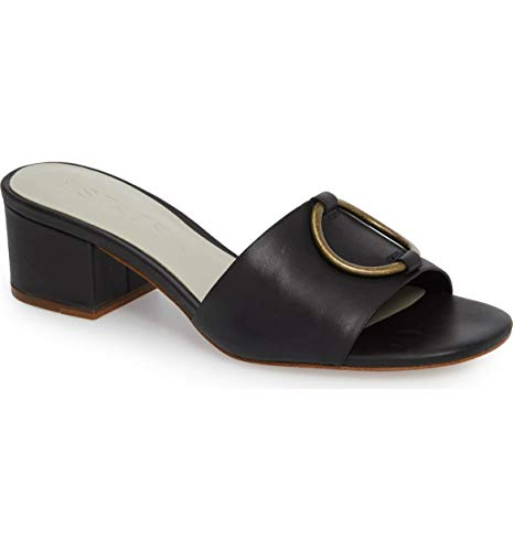 1.STATE Women's Jacale Black Mexico Leather 7.5 M US M