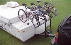 Trailer Bike Rack >> Pro Rac Systems Inc Tent Trailer 4 Bike Carrier