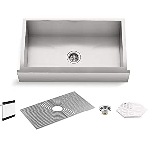 318gDuoCB-L._SS300_ 75+ Beautiful Stainless Steel Farmhouse Sinks For 2020