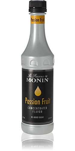 Monin Passion Fruit Flavor Concentrate 375ml Bottle