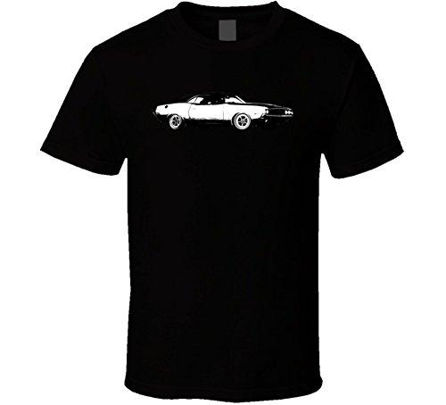 Dodge Challenger Rt 426 7 Vintage Car Lover Driver Gift T Shirt 2XL Black