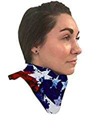 """Thyroid Shield 25"""" ✮ .5mm pb Protection Collar ✮ Thyroid Collar Protection for Medical, Dental X-Ray and Mammography ✮ Patriot Design"""